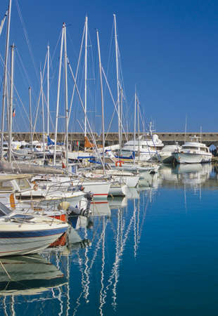 harbour antibes alpes maritime cote d'azur french riviera provence south of france europe Stock Photo - 1622062