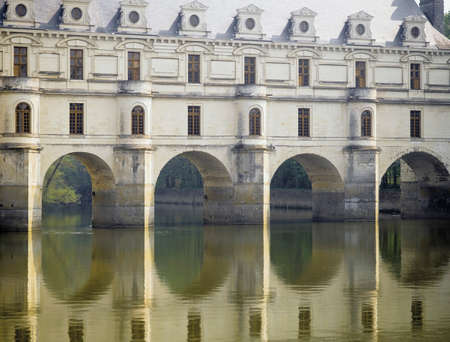 loire: chateau chenonceau loire valley france europe Stock Photo