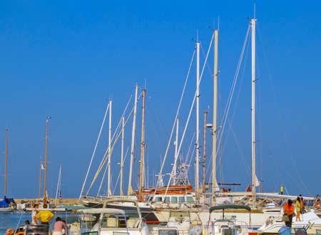 toulon: hyeres port holiday resort near toulon var cote dazur provence france