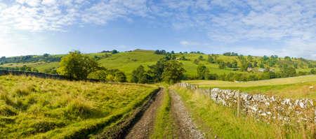 upper dovedale valley peak district national park derbyshire staffordshire england uk Stock Photo - 1622162