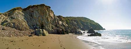 cornish: cornish coast kennack sands beach cornwall england uk