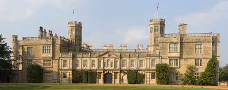 stately home castle ashby northamptonshire midlands england uk photo