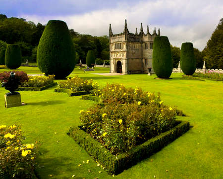 stately home: country house and stately home of lanhydrock bodmin cornwall england uk Stock Photo