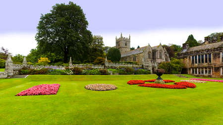 bodmin: country house and stately home of lanhydrock bodmin cornwall england uk Stock Photo