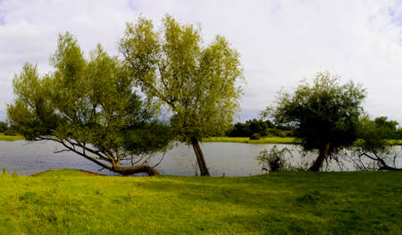ouse: river great ouse odell harrold country park bedfordshire home counties england uk