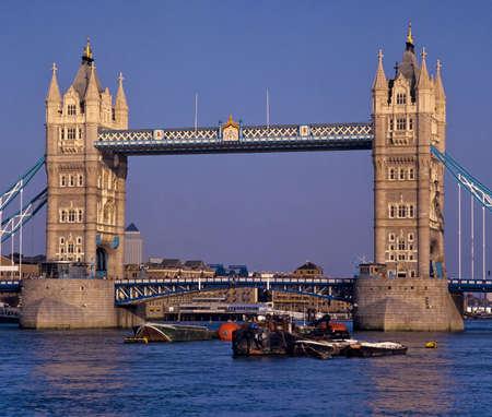 tower bridge river thames london  photo