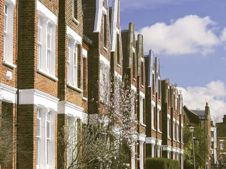housing homes property highgate north london Stock Photo