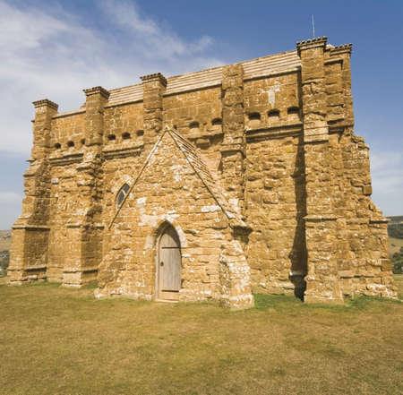 abbeys: england dorset abbotsbury village st catherines chapel