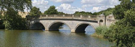 warwickshire: england warwickshire compton verney robert adam bridge