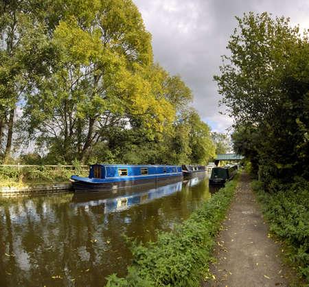 avon: stratford upon avon canal lapworth flight of locks warwickshire midlands england uk Stock Photo