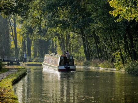 avon: stratford upon avon canal preston bagot warwickshire midlands england uk Stock Photo