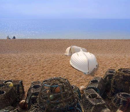 dorset: Beach seatown jurassic coast dorset england uk Stock Photo