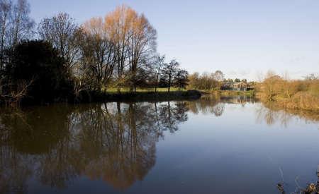 warwickshire: river avon warwick warwickshire england uk