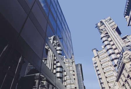 lloyds: lloyds of london insurance company building london england uk europe
