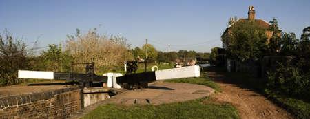 tardebigge: Worcester e Birmingham Canal tardebigge canale villaggio Worcestershire Midlands Inghilterra la pi� profonda di blocco sul canale del sistema - tardebigge cima di blocco Archivio Fotografico