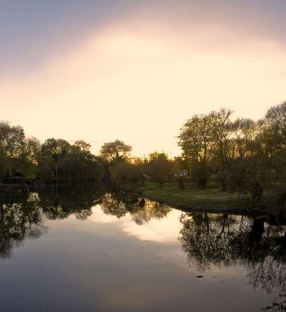 welford on avon: river avon welford-upon-avon warwickshire england uk Stock Photo