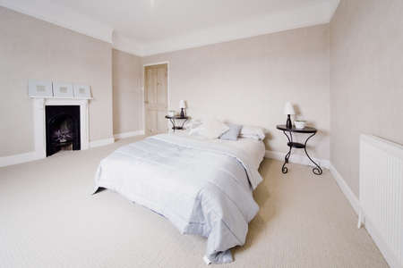 bedroom in newly converted house clean design modern Stock Photo - 2044956