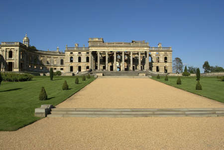 aristocracy: Witley Court Country House Worcestershire Midlands England Stock Photo