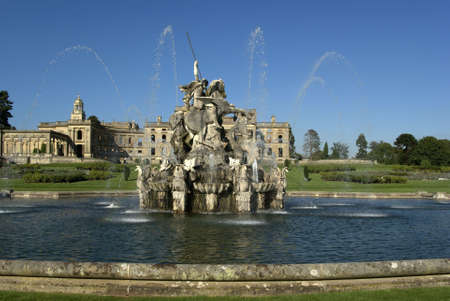 andromeda: Witley Court Country House Worcestershire Midlands England perseus and andromeda fountain Stock Photo