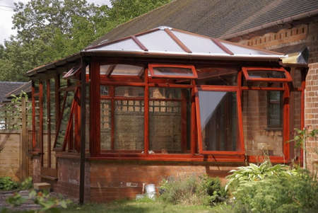 conservatories:    conservatory           Stock Photo