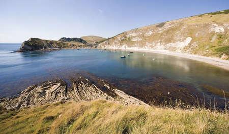 great bay: lulworth cove dorset coast england gb uk