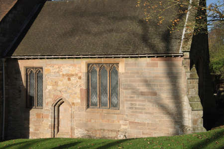 parish: churchyard beoley church warwickshire midlands