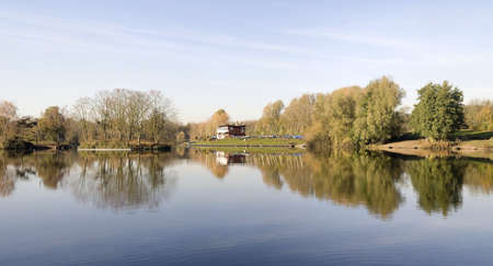 arrow valley lake country park redditch worcestershire midlands england uk photo