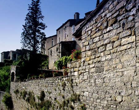 midi: cordes sur ciel village tarn midi pyrenees france eureope eu