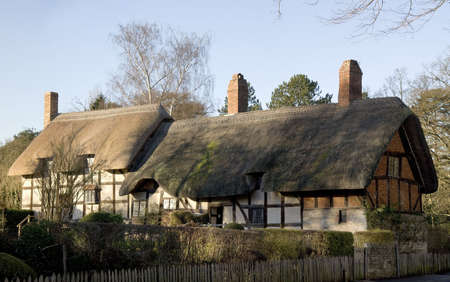 anne hathaways cottage home of william shakespeares wife shottery stratford-upon-avon great britain england uk united kingdom eu photo