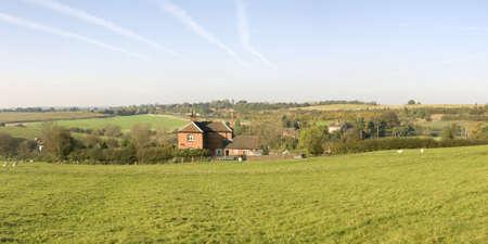 tardebigge: Dal punto di vista monarchi modo lunga distanza sentiero Tardebigge Worcestershire.