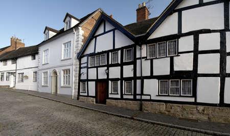 Old buildings in Mill Street Warwick, photo
