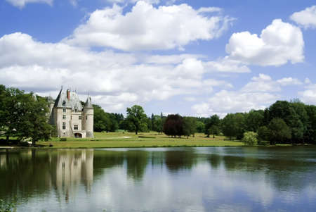 loire: A chateau in the loire valley, France, Europe.
