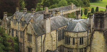 lanhydrock: country house and stately home of lanhydrock bodmin cornwall england uk Stock Photo