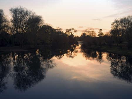 welford on avon: The river avon at welford-upon-avon warwickshire england uk.