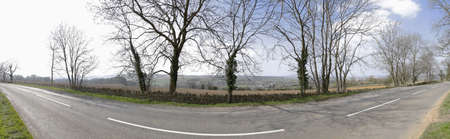 A cotswold road chipping campden gloucestershire the midlands england uk europe photo