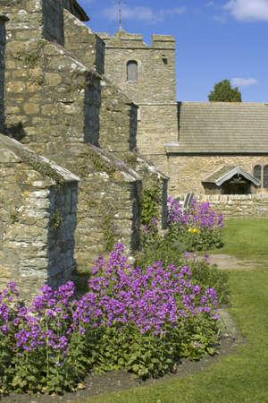 show garden: Garden stokesay castle shropshire england uk