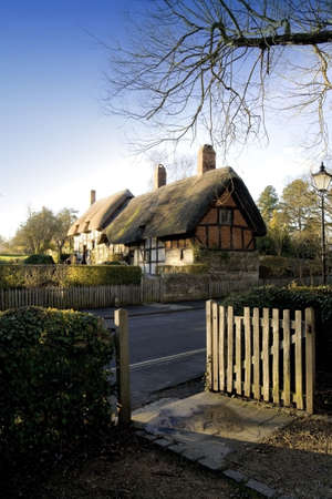 Anne hathaways cottage, the home of william shakespeares wife shottery stratford-upon-avon great britain england uk united kingdom eu. photo