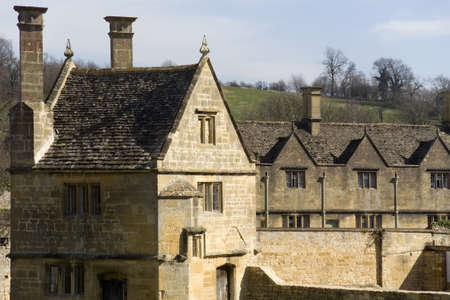 Chipping campden village in the cotswolds. photo