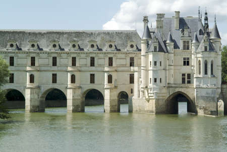 aristocracy: Chateau chenonceau in the loire valley france europe.