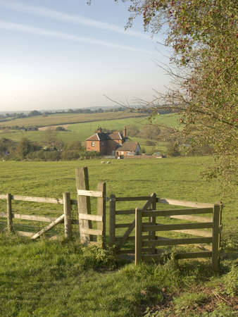 tardebigge: A view from the monarchs way long distance footpath tardebigge worcestershire.