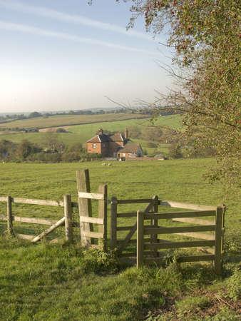 tardebigge: Una vista dal modo in cui sovrani lungo sentiero Worcestershire distanza tardebigge. Archivio Fotografico