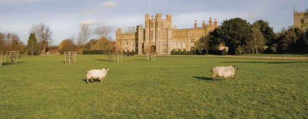 aristocracy: The stately home of coughton court warwickshire.