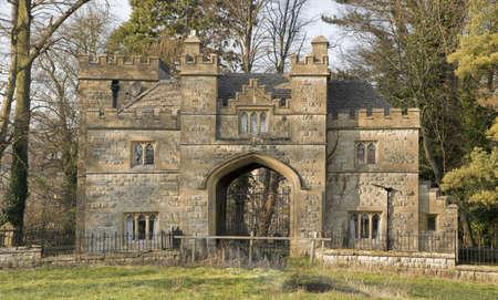 gatehouse: Winchcombe The Cotswolds Gloucestershire The Midlands England
