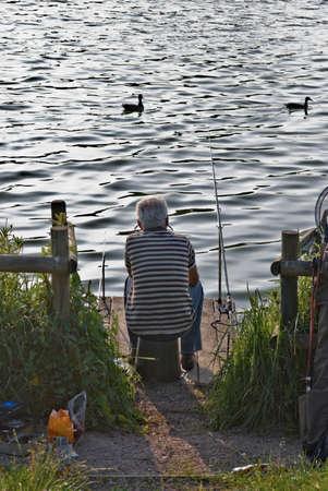 england the midlands worcestershire fishing arrow vallry lake photo