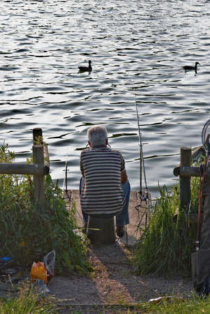 redditch: england the midlands worcestershire fishing arrow vallry lake