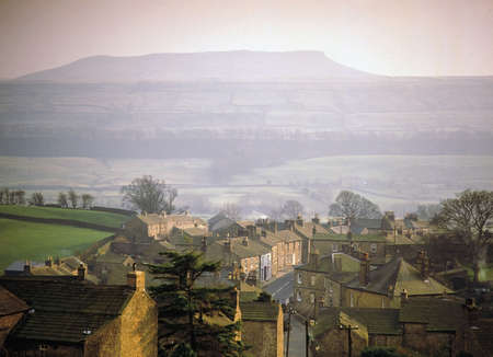 A village with houses in countryside Stock Photo - 2569062