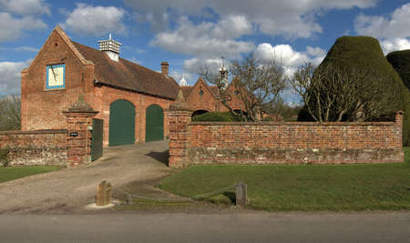 packwood: A stately home in warwickshire uk.
