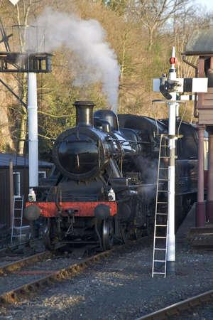 severn: The severn valley preserved steam railway.