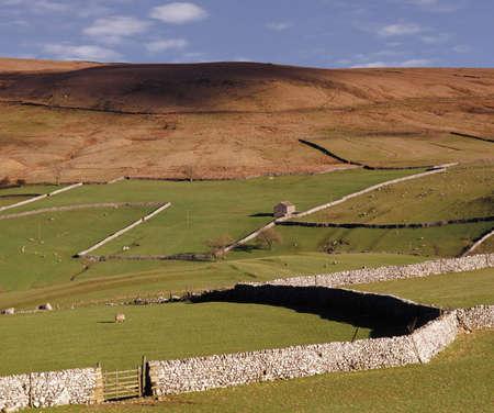 dales: The yorkshire dales national park england uk