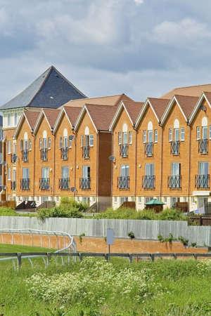 racecourse: houses stratford racecourse warwickshire uk